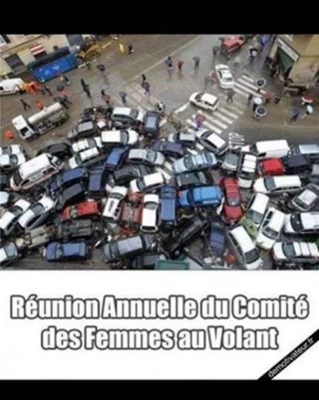 Femmes au volant !! rires au tournant...