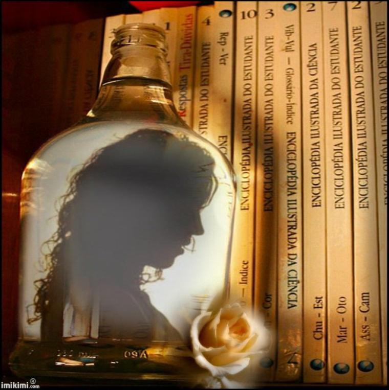 La passion du livre.