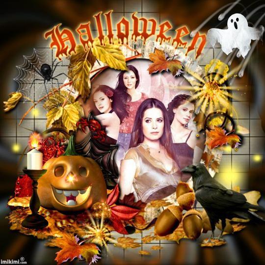 Halloween chez les Halliwell.