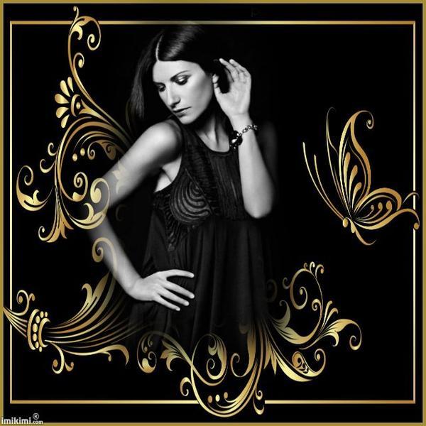 La bella Laura Pausini.