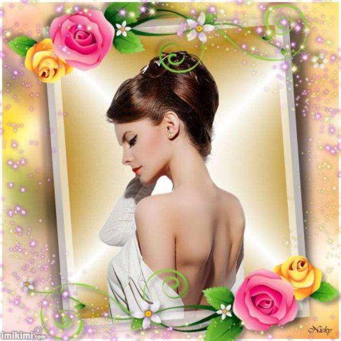 Belle comme une rose.