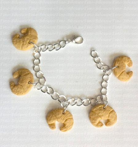 bracelet croissants