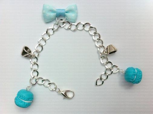 bracelets macarons tasses et noeuds