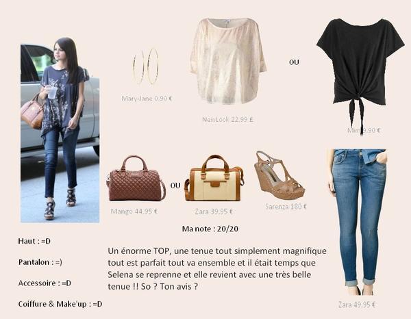 Tenue 14 : TOP ♥