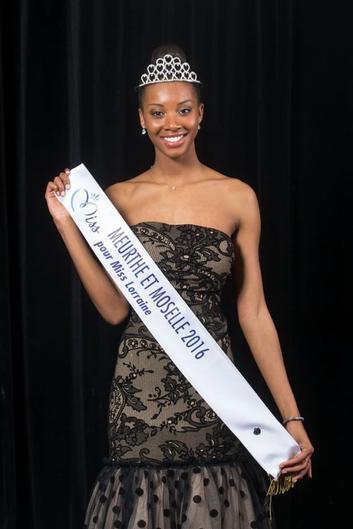Miss Meurthe-et-Moselle 2016 est Justine Kamara