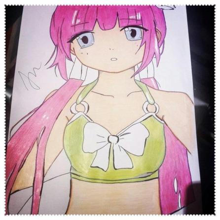 Petite collection manga en bikini théme plage :D
