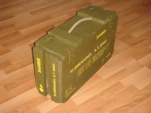 Restauration d'une caisse : M9A1 RIFLE GRENADE ....