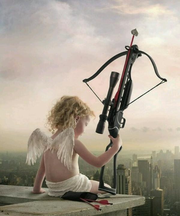 Cupidon ne me rate pas...