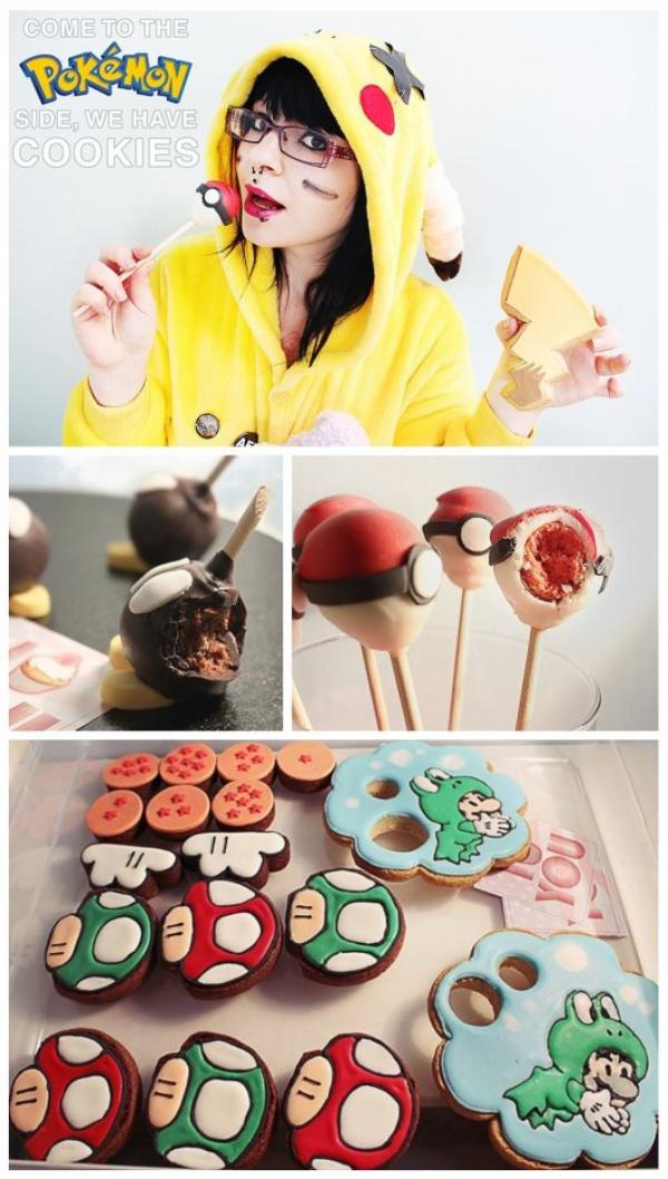 Manga Animes cupcakes, popcakes & cookie design