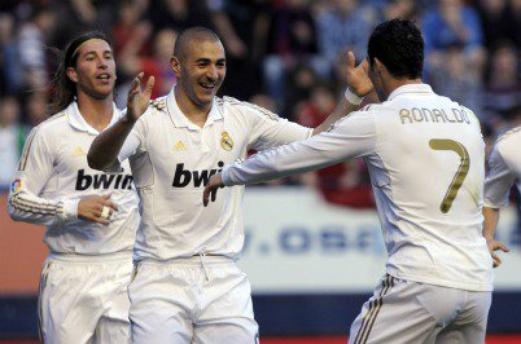 31eme Journée : Osasuna 1-5 Real Madrid