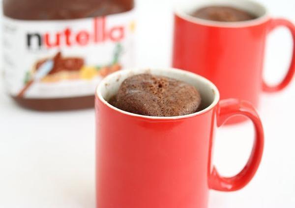 Mug Cake Nutella ♥ ! [ DIY n°1 ]