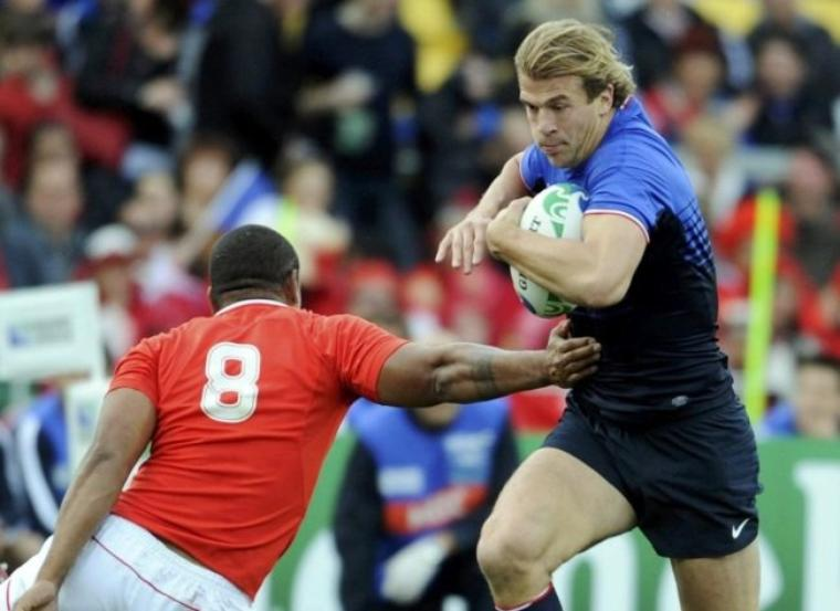 France 14 - 19 Tonga