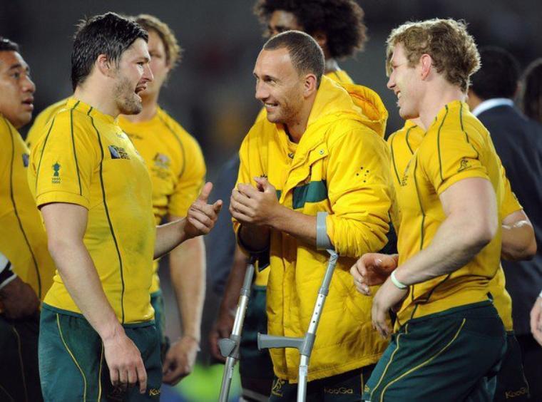 Australie 21 - 18 Pays de Galles