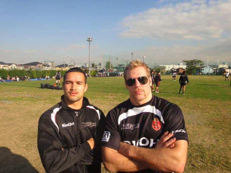 Tamati Ellison & James Haskell