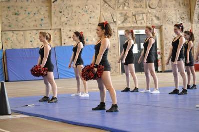 Coucou, je suis cheerleader !