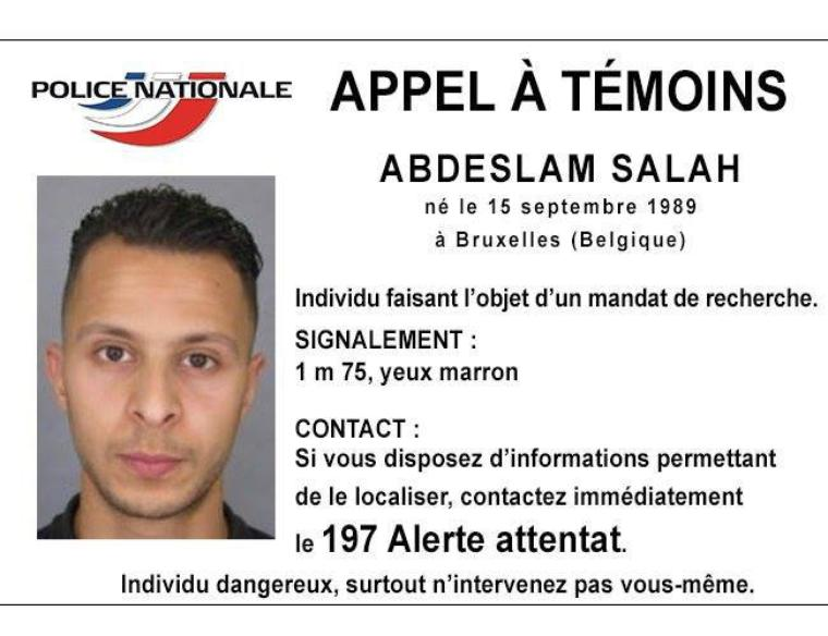 La police allemande recherche Salah Abdeslam