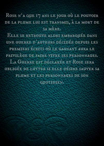 Prologue - Tant que la Plume ...
