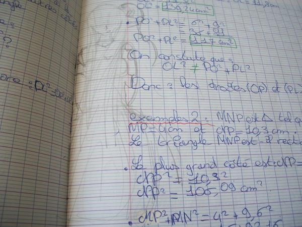 Mon cahier de maths ! !  1 ERE partie