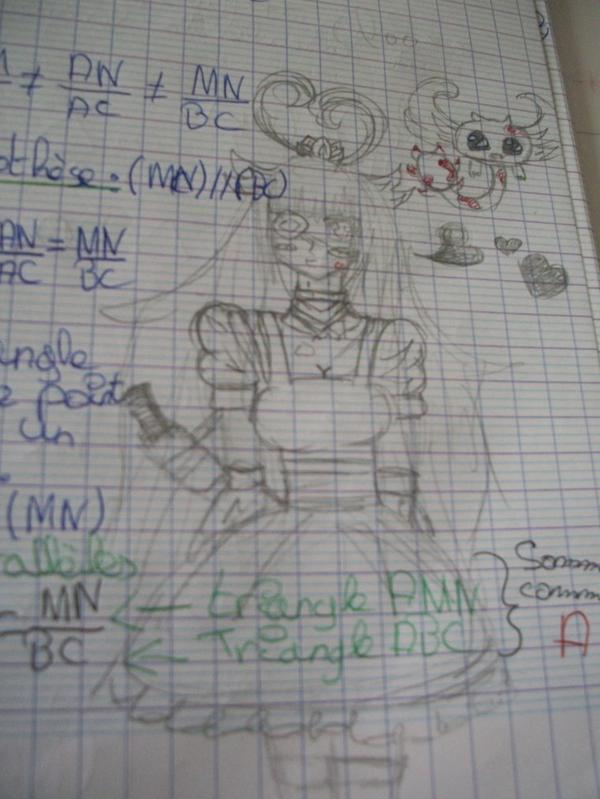 Mon cahier de maths derniere partie ( ouf ... )