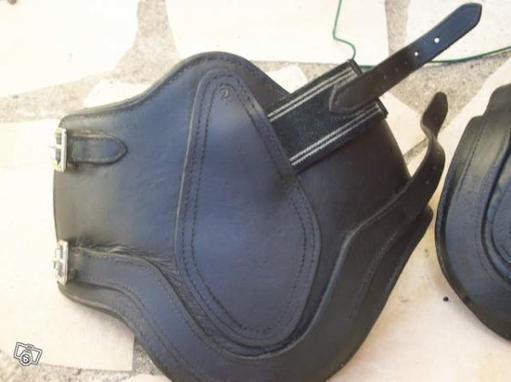 Protege Boulet Cuir taille 2 Noir