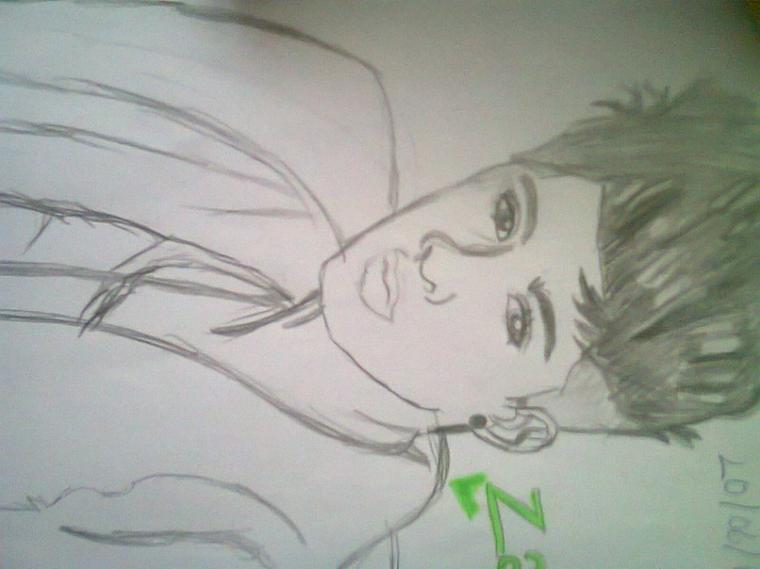 dessin de zayn :)