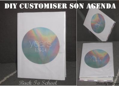 Back To School : Customiser Son Agenda ✄