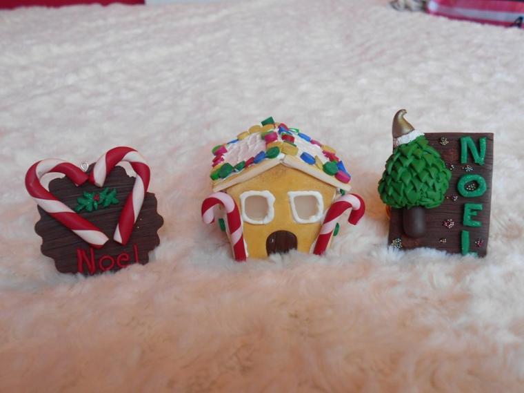 Quelques créations de Noël ! ( partie 1)