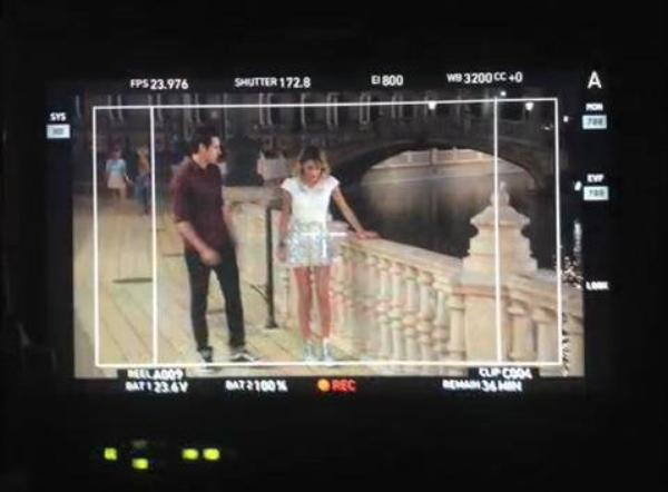 Violetta 3 - backstages