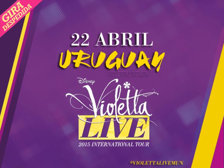 Tournée Violetta Live - Montevideo