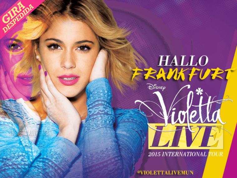 Tournée Violetta Live - Frankfort