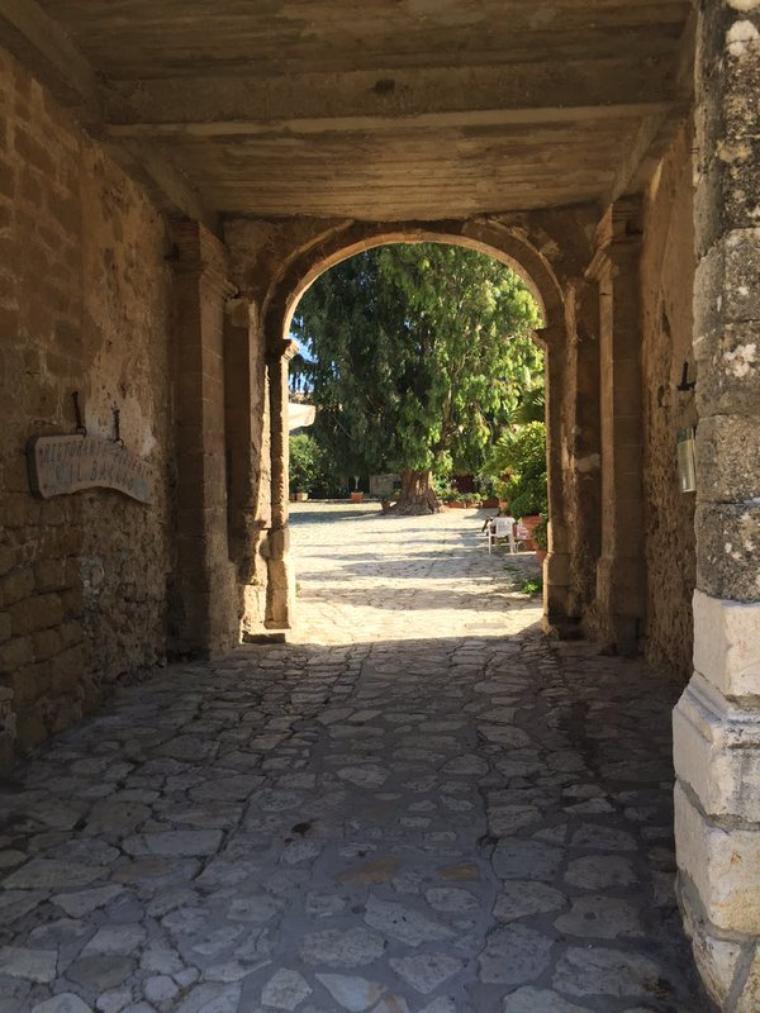 Tini / Jorge / Mechi - Tournage en Sicile