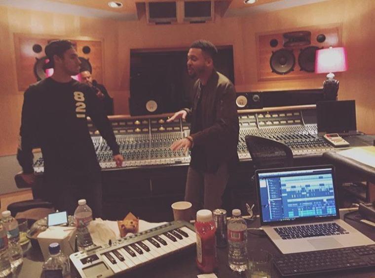 Jorge - Enregistrement de son disque à Los Angeles