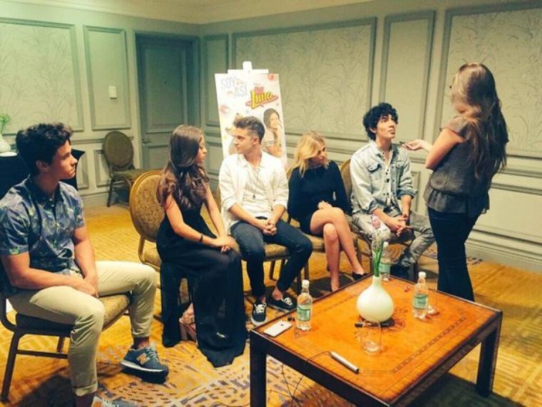 Ruggero - Conférence de presse Soy Luna