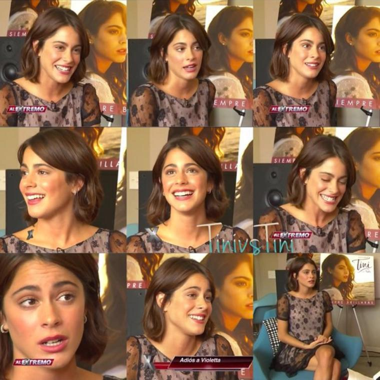 Tini - Interview El Extremo