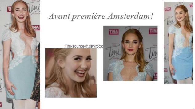 Tini's et Mechi's Look - Avant-première Amsterdam