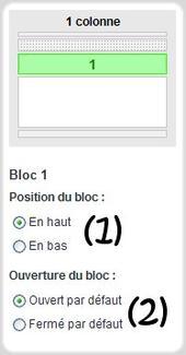 Astuce n°9: Changer la posistion du bloc Infos