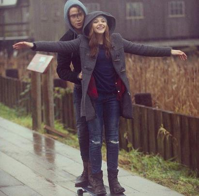 I don't care where we are, I juste care that we're together..♥ -If I Stay-