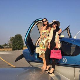 Voyage en jet ♥