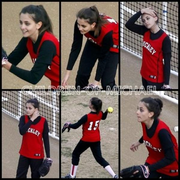 Paris joue au softball