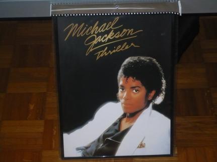 Tableau Michael Jackson Thriller .