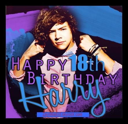 Happy Birthday Harry <3