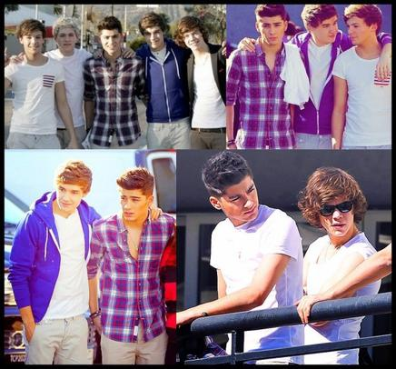 ♥ 1D in Los Angeles :D ♥ ( partie 1 )