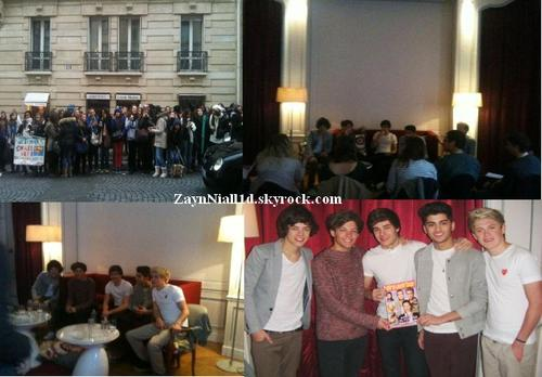 ♥ One Direction in Paris ♥ Partie 2