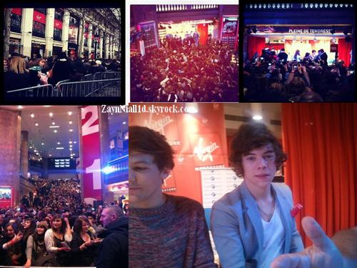 ♥ One Direction in Paris ♥ Partie 4