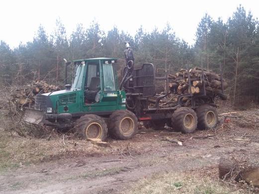 porteur forestier timberjack