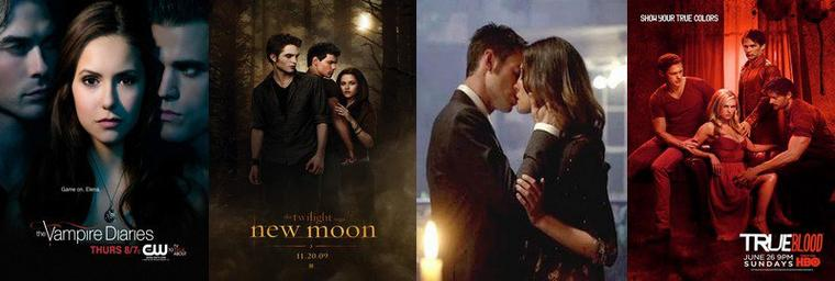 [Zoom sur...] Les séries de vampires : Les vampires et l'amour (part.5)
