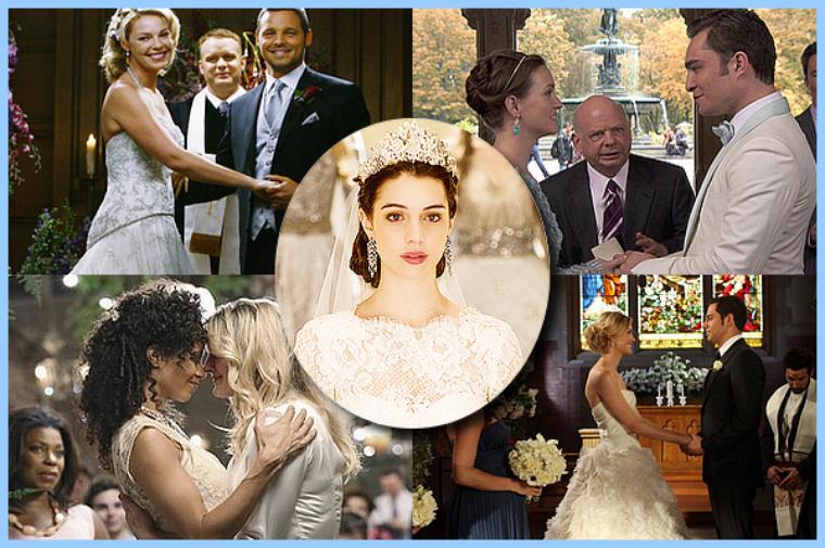 [Mon Top 5] Les plus beaux mariages