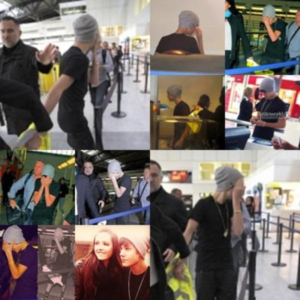 Photos Personnelles + Justin à l'aéroport de Nice