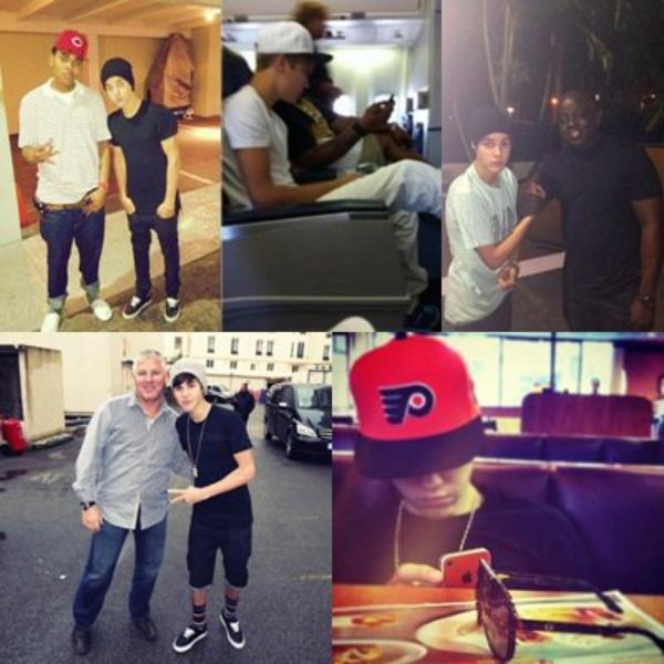 Vidéos : Proactiv + en studio + photo personnel et avec des fans + fesant du skateboard a miami