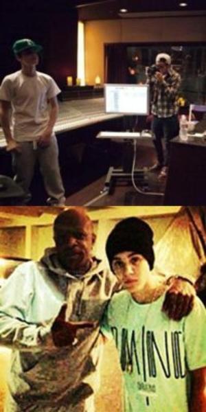 Justin Bieber arrive à Los Angeles + en studio + avec des fans + Juno Awards